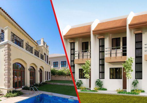 Villa vs Maisons de ville – 5 points pour un acheteur à Abidjan Côte d' Ivoire